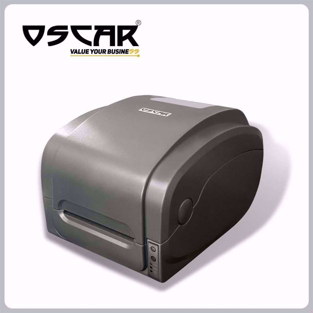صورة OSCAR OBP-1125F Ribbon Thermal Transfer & Direct Thermal Barcode Printer