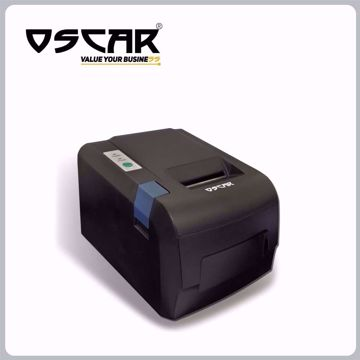 صورة OSCAR POS58U 58mm Thermal Bill POS Receipt Printer USB without Auto-Cutter Black Color…