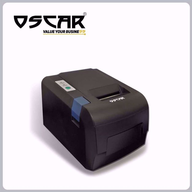 Picture of OSCAR POS58U 58mm Thermal Bill POS Receipt Printer USB without Auto-Cutter Black Color…