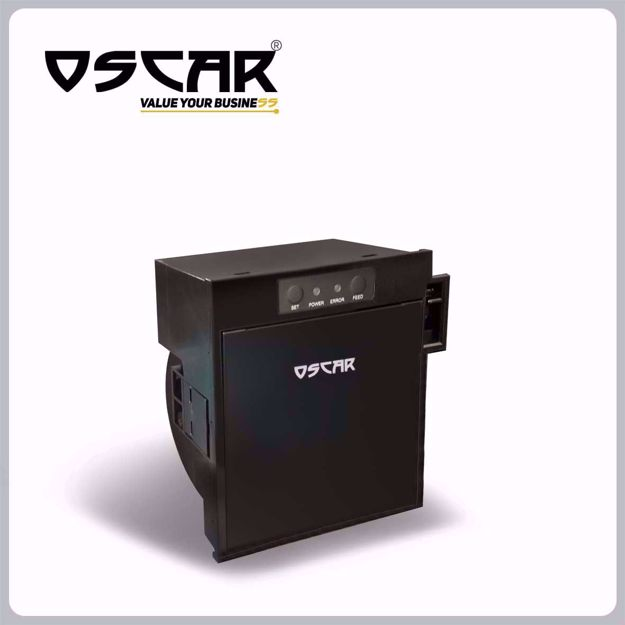 Picture of OSCAR POS88P Panel Printer 80mm USB+Serial with Auto-Cutter Black